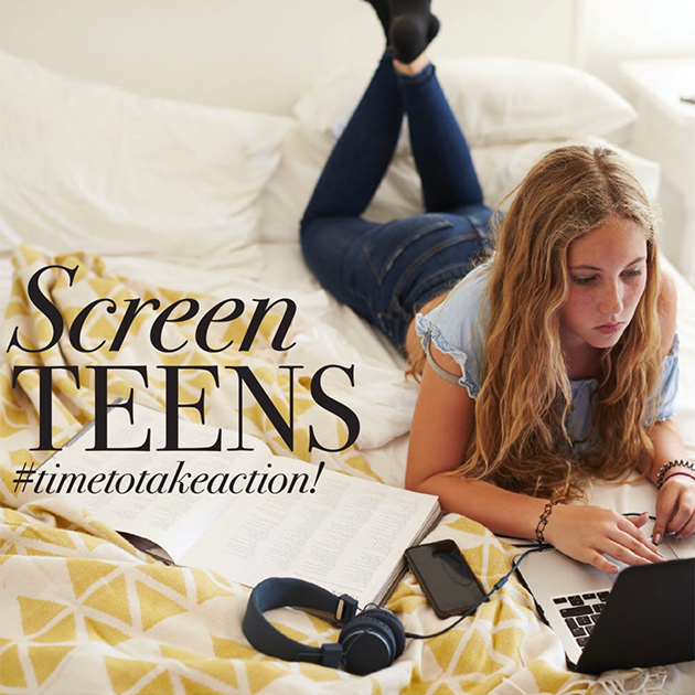 Screen Teens #timetotakeaction! Podcast Cover Image