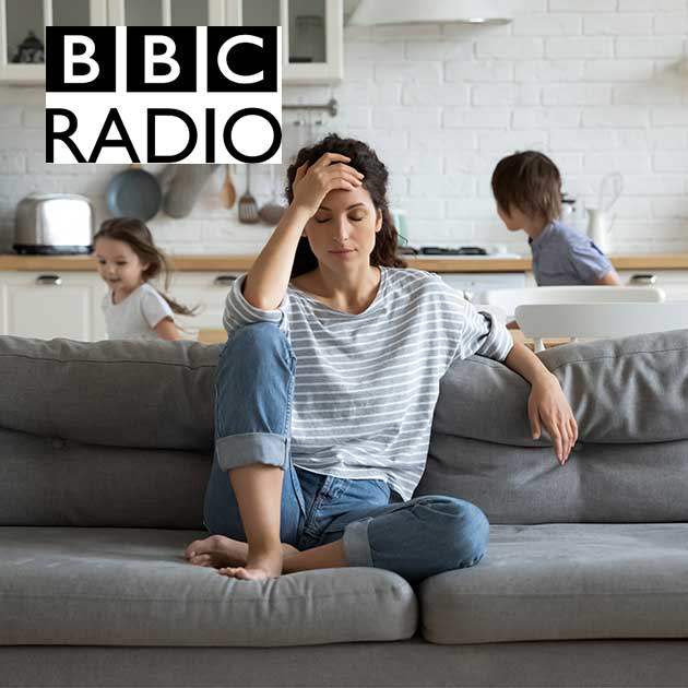 BBC radio interview -  How Coronavirus can exasperate chronic pain conditions Podcast Cover Image